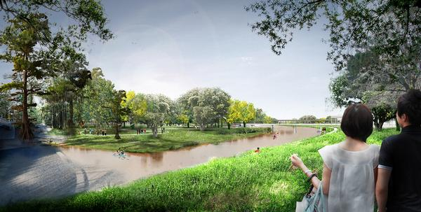 West 8 has masterplanned a new botanical garden for Houston, with a range of gardens and amenities