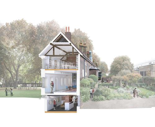 Up to 40 per cent more space will be created through the renovation and extension work / Wright & Wright Architects
