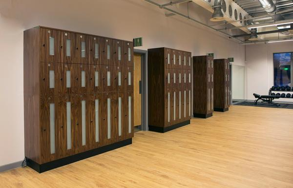 Technogym keys open the lockers