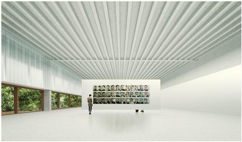 The museum exhibits Peru's finest contemporary art works / Museo de Arte de Lima