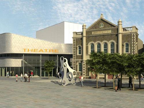 Llanelli set for new £14.6m cultural venue