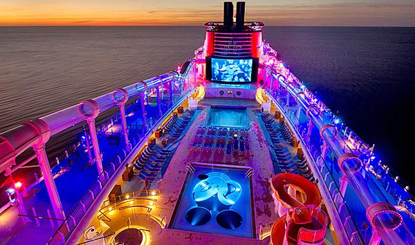 Disney Cruise Line ships are designed so that every family member can enjoy the experience, no matter what age they are