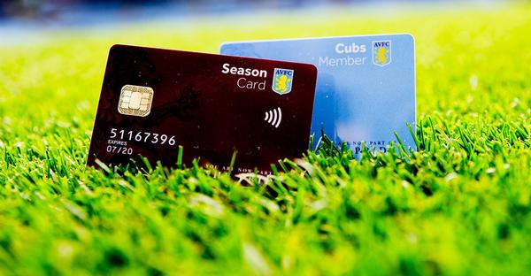 Fans will be able to use the cards at the ground or high street