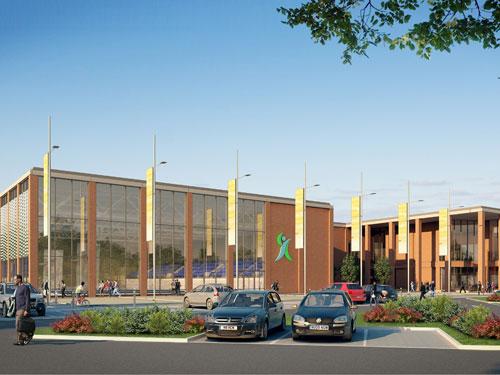S&P Architects have designed Luton's new GBP26m aquatic centre