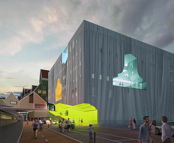 The Zaanstad Cultural Cluster has recently been given the green light
