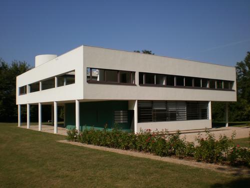 General view, Villa Savoye / FLC/ADAGP