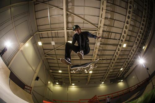 The skate park will offer more than 900sq m (9,688sq ft) of skate ramp terrain