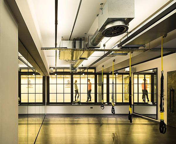 Core Collective's Kensington gym inside abandoned residences
