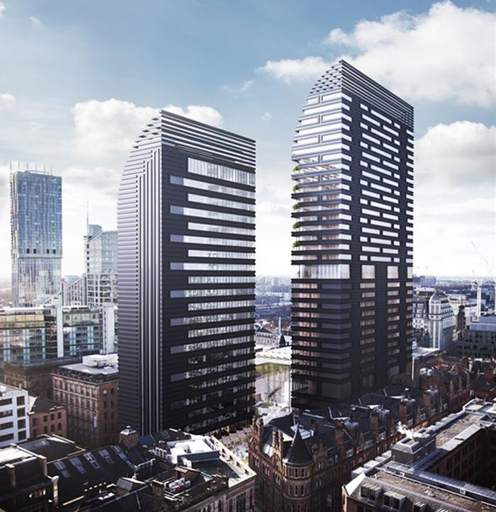 Two towers will house a hotel and offices / Make