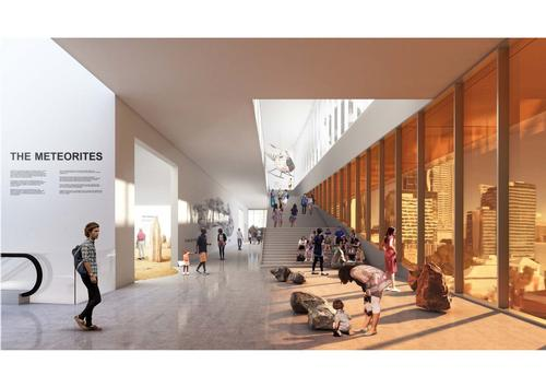 The building will house the state's scientific and cultural collections