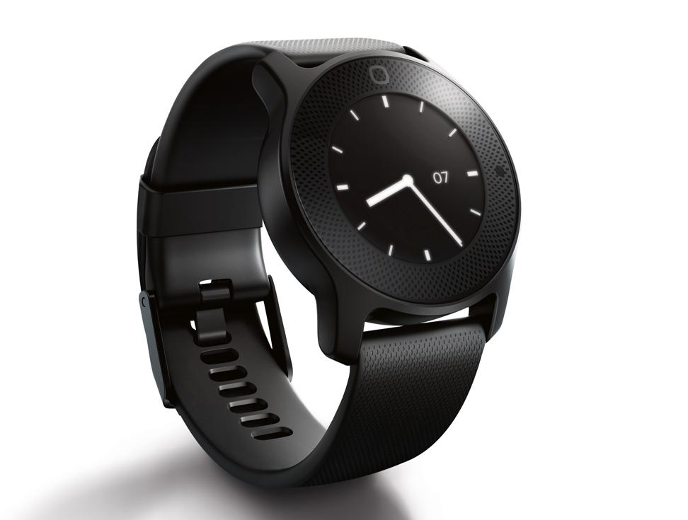 Watch continuously and automatically measures health biometrics / Philips