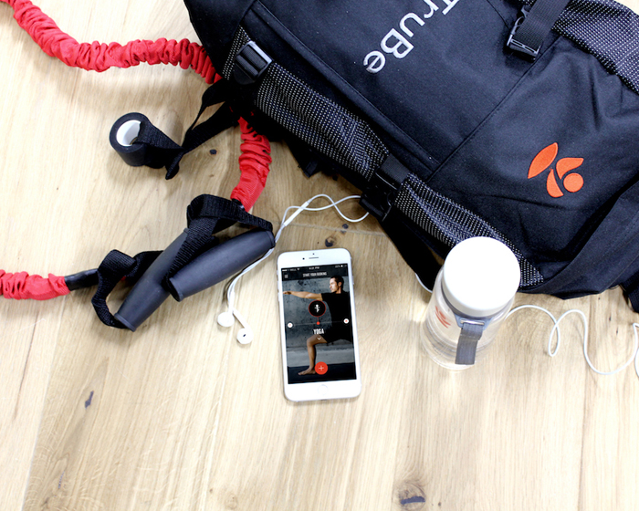 The app connects London-based users with workouts and PTs across the city