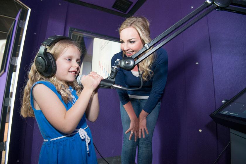 Facilities include recording studios, workshops, classrooms and event spaces / Leblond Studio