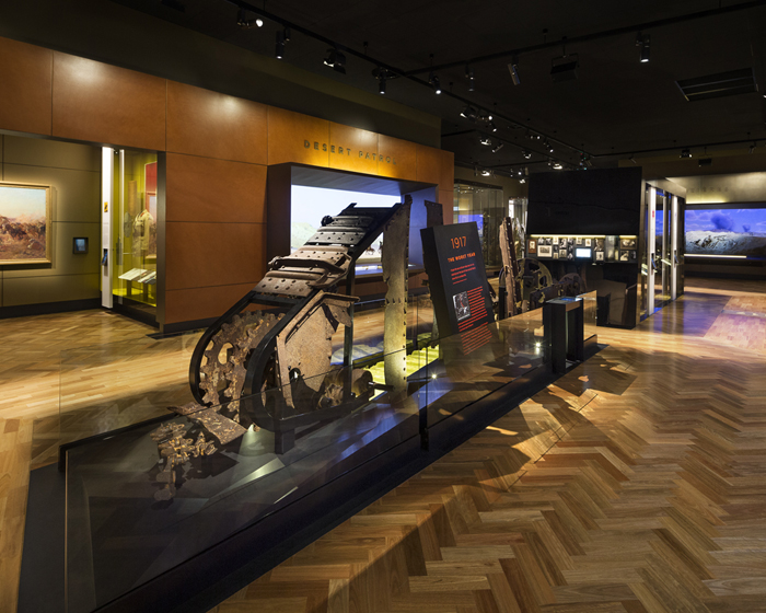 Dynamic lighting for Australian First World War galleries