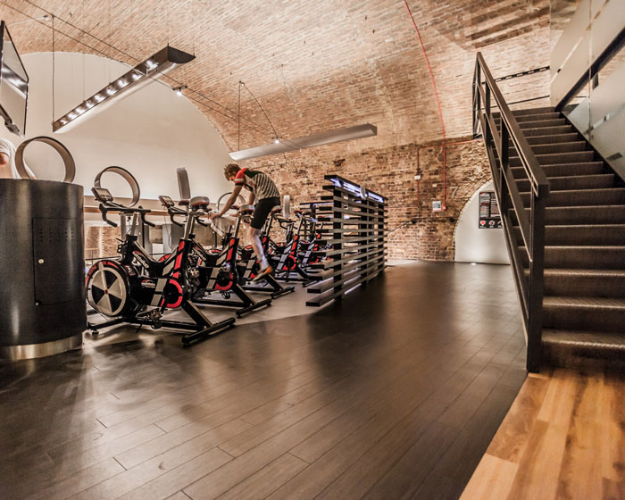 The Wattbike Performance Zone at Nuffield Health City