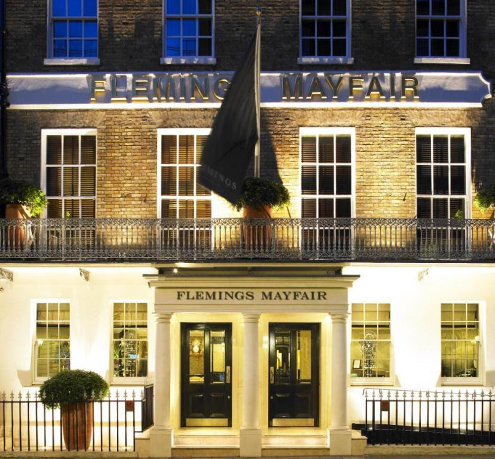 The interiors of Flemings Mayfair will be 'brought up to date' / ReardonSmith