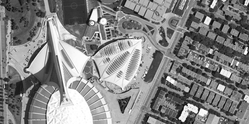 The biodome was once a velodrome and is located in Montreal's Olympic Park / KANVA