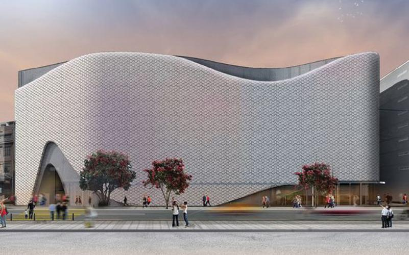architects inspired by mythical fish for proposed design of