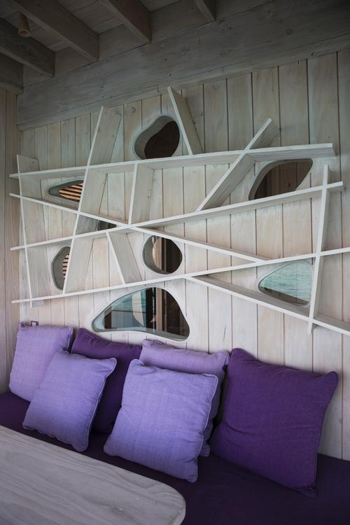 The resort's interiors have been designed by Eva Shivdasani, one of Soneva's co-founders / Richard Waite