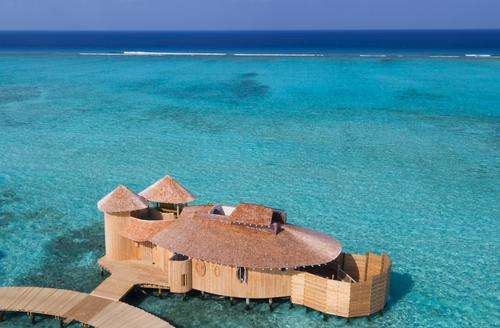 The resort comprises 24 water villas and one island villa, with additional island villas planned at a later stage / Richard Waite