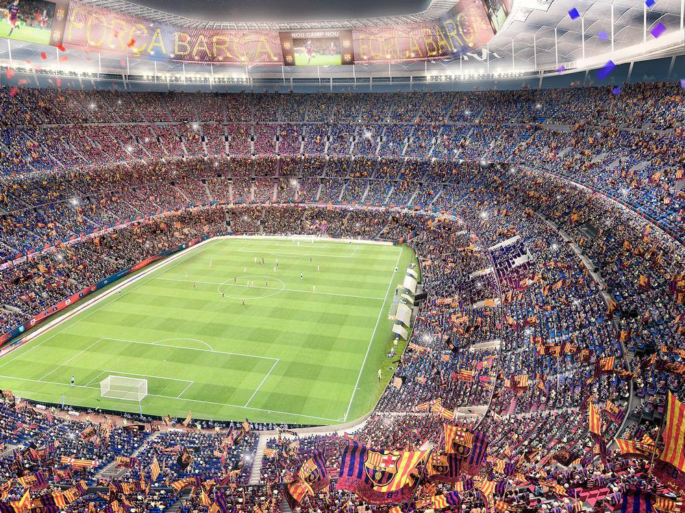 The capacity of the stadium will be increased to around 105,000 / FC Barcelona