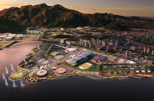 The original masterplan for the Rio 2016 Games