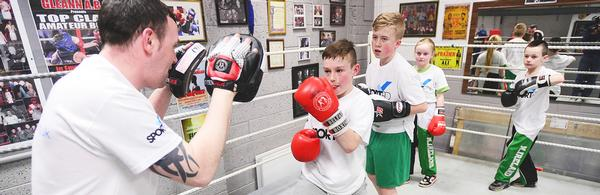 Sported's new Box On initiative aims to help clubs in the most economically deprived areas / © sported