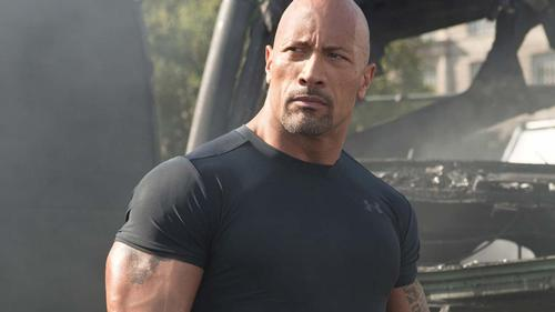 The Rock films exclusive scenes for Fast & Furious attraction at Universal Hollywood