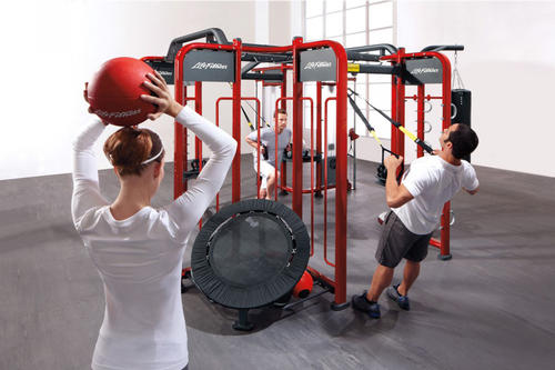 The new facility houses Life Fitness' Synrgy360 equipment