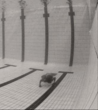 Underwater camera saves swimmer's life