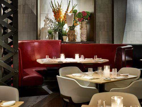This is the first restaurant design by Casson Mann, who are better known for their museum interiors / Eneko at One Aldwych