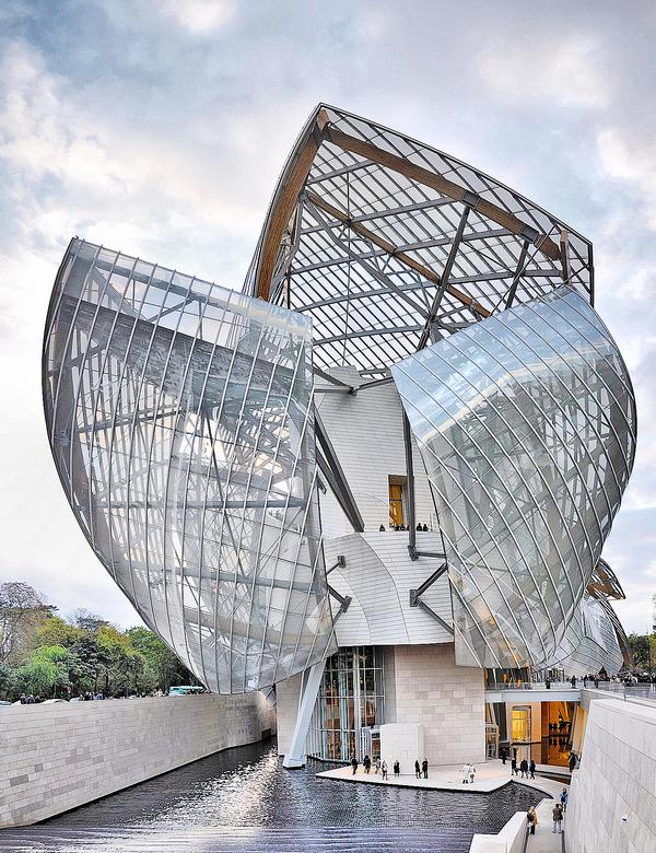 This was Gehry's first project in Paris since the Cinémathèque Française, which opened in 1994 / PHOTO: Stéphane Peres