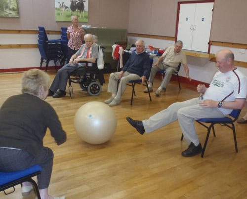 GLL supporting Zurich's older people's programme