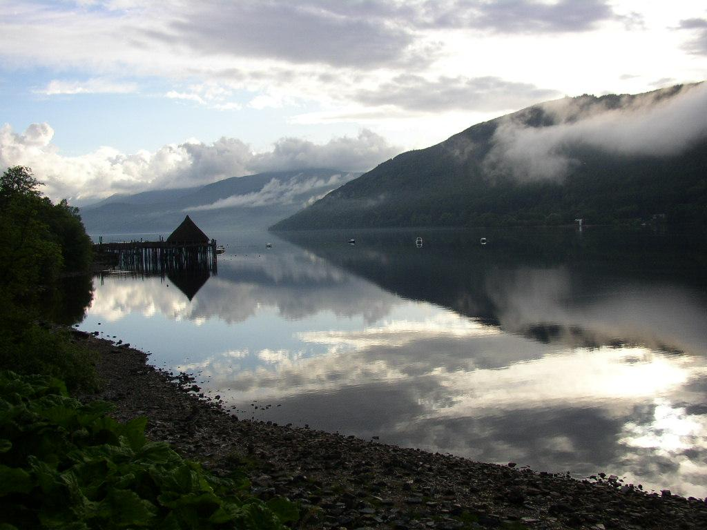 The sauna will offer panoramic views of Loch Tay / Dave Morris
