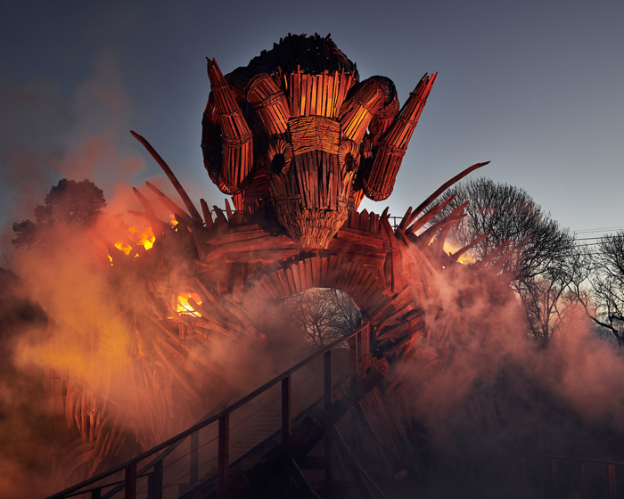 Holovis puts riders at the heart of the Wicker Man with immersive storytelling