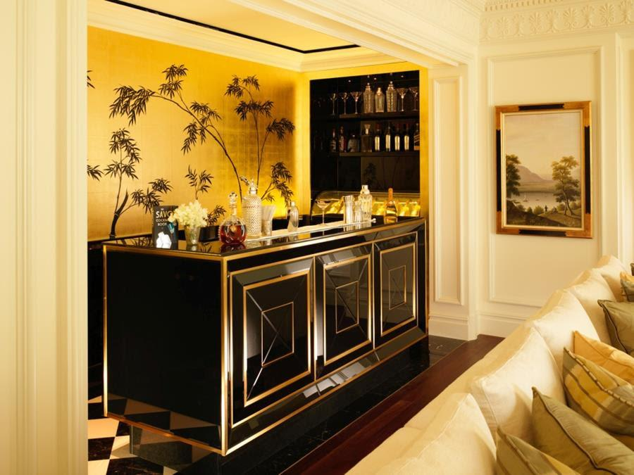 The Royal Suite has been enlarged and revamped, with a new bar / The Savoy