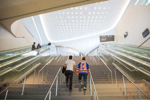 The arena has been designed by architects HOK / Marko Ditkun/Edmonton Oilers