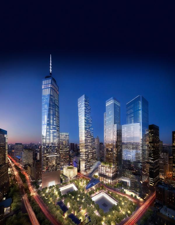 The World Trade Center campus