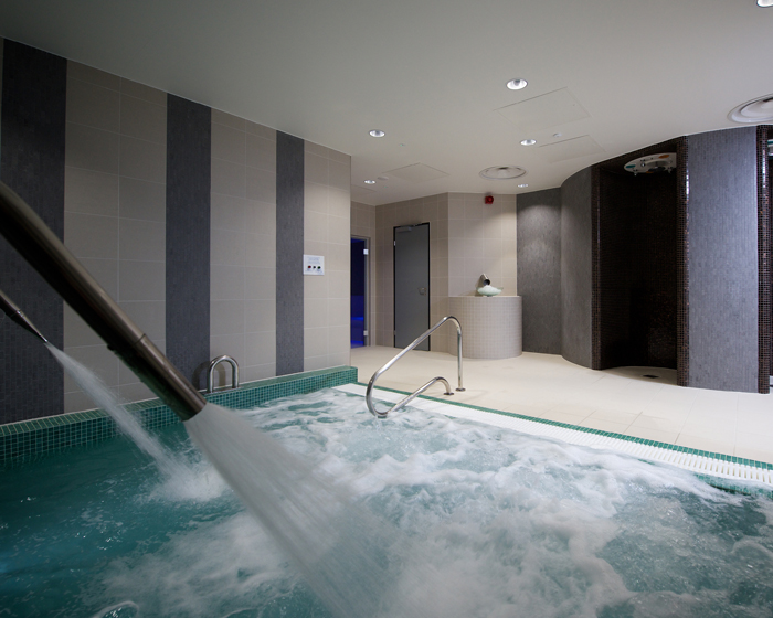 DaleSauna creates thermal spa for local authority leisure centre