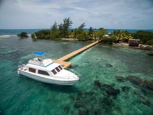 A 25 minute boat trip connects the island with Coppola's Turtle Inn resort / The Family Coppola