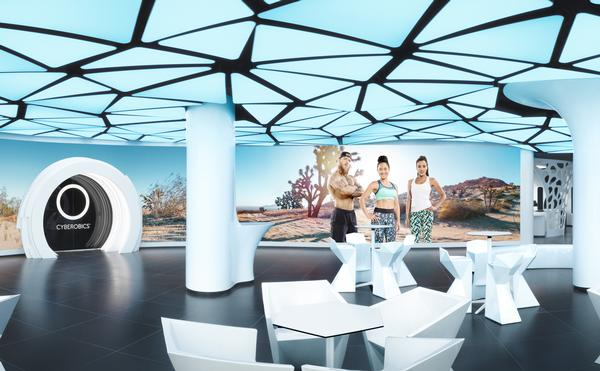 McFIT opened its World of Cyberobics virtual-only club in Berlin, Germany