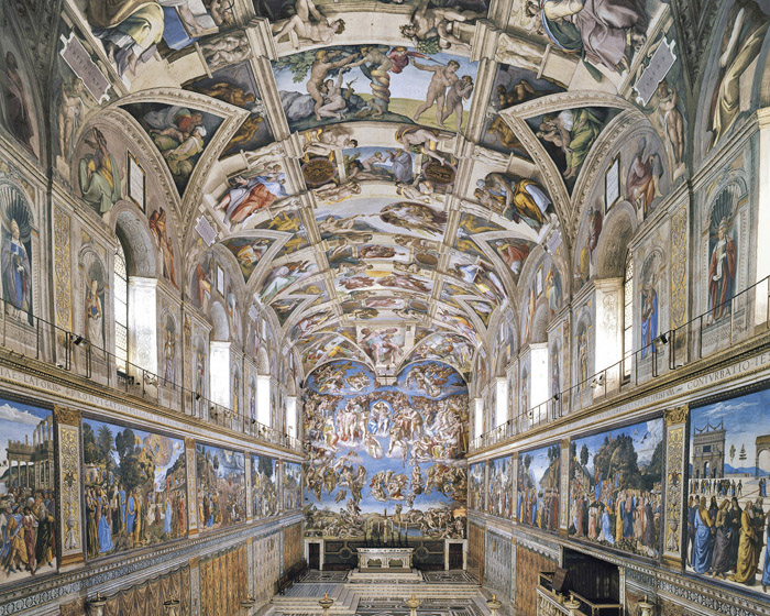 Osram LEDs illuminate Sistine Chapel