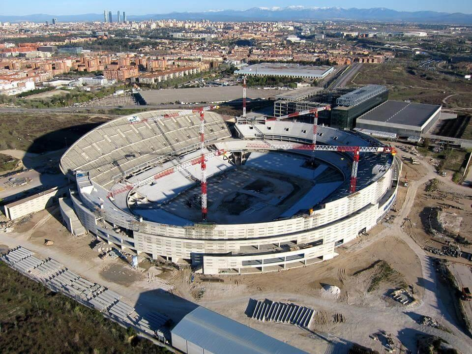 The 66,000-capacity stadium will include a fanzone, museum and videomapping facade / Cruz y Ortiz Arquitectos