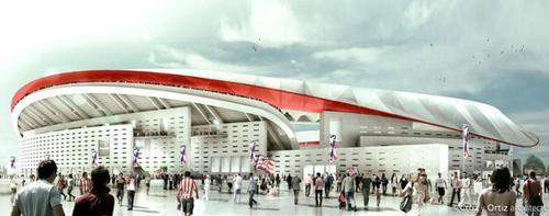Cruz y Ortiz Arquitectos have designed the stadium / Cruz y Ortiz Arquitectos