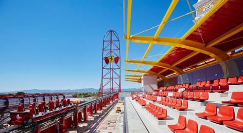 Global design practice PGAV – in collaboration with Ferrari and PortAventura – is behind the design of Ferrari Land / PortAventura