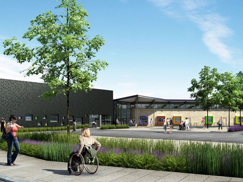 Mentor are behind the design of Leeds' Holt Park Active Living Centre