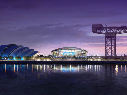 Foster and Partners are behind the design of Glasgow's new arena