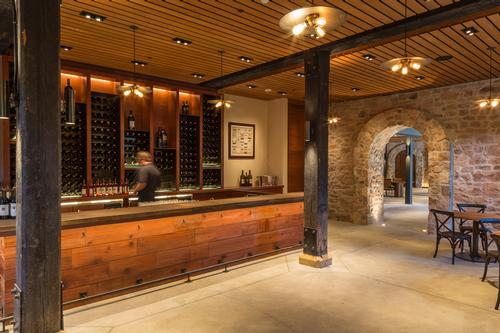 The facility has one of the biggest wine libraries in the US / Jay Graham