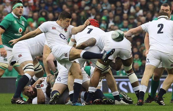 Ben Youngs had the strength and fitness to push himself to the limit in a recent RBS 6 Nations match / PA