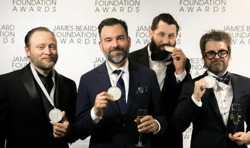 Design studio land sea dept won a restaurant award